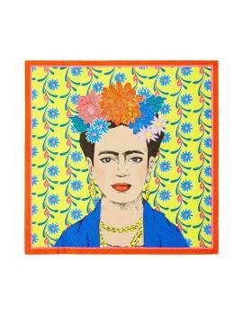 Frida Kahlo servetten geel - Talking Tables