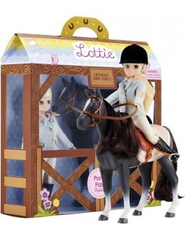 Lottie speelgoedpop met paard - Pony Pals