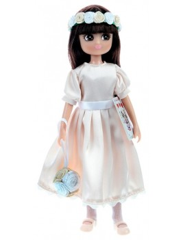 Lottie speelgoedpop met bloemen - Royal Flower Girl