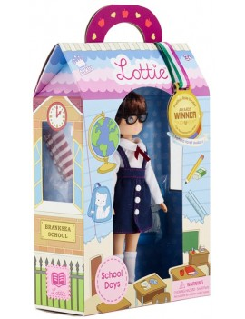 Lottie pop als studente - Lottie School Days
