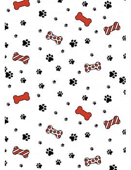 Honden kerstkaart set van 8 kerstkaarten met omslagen - Lacarta