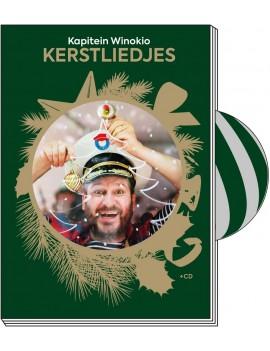 Kerstliedjes boek + cd - Kapitein Winokio