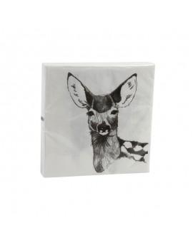 papier servietten, Anouk Christmas 33x33 - &Klevering