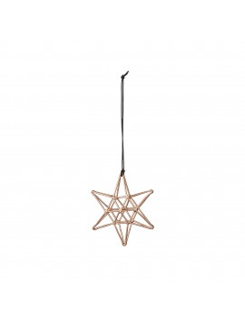 kersthanger Double Copper Star - Bloomingville