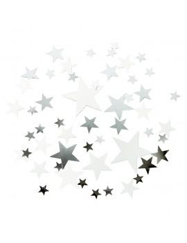 tafeldeco Star Scatter Silver - Talking Tables