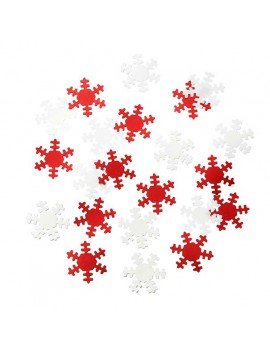 tafeldeco Snowflake Scatter 'Russian Christmas' - Talking Tables