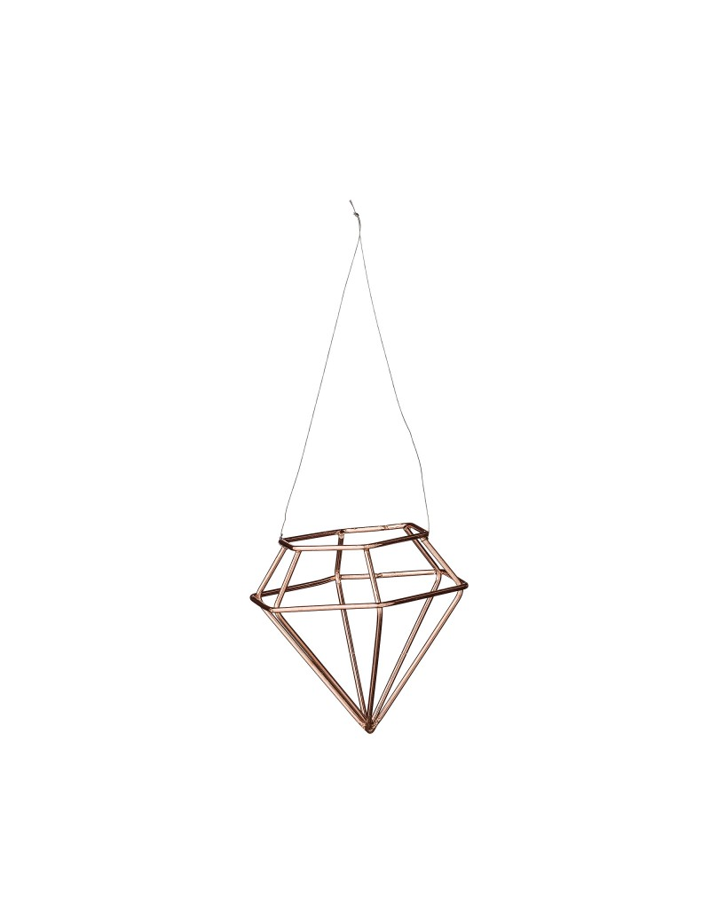 kersthanger Diamondshape Copper - Bloomingville