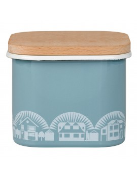 emaille vooraadpot 'Chalkhill Blue'- Mini Moderns
