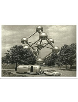 kaart 'Airstream in Brussel'