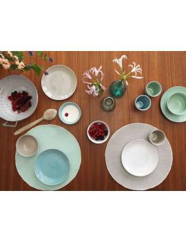 ontbijt- of dessertbord keramiek roomwit - &Klevering