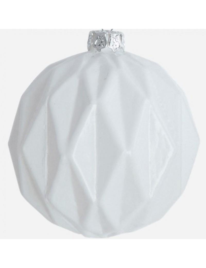 glas kerstbal Mercury 8 cm - House Doctor