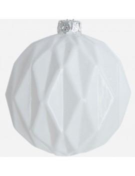 glas kerstbal Mercury 6 cm - House Doctor