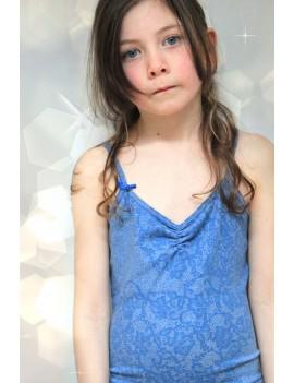 catsuit 'Blue Lace Tricot' - Bengh Per Principesse