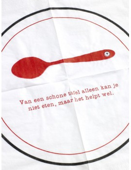 servietten 'Schone tafel' (50 st.) -Clodette by Serax