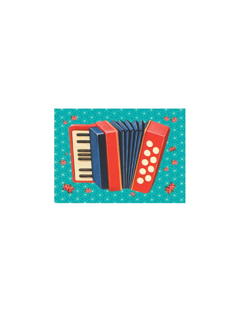 kaart accordeon