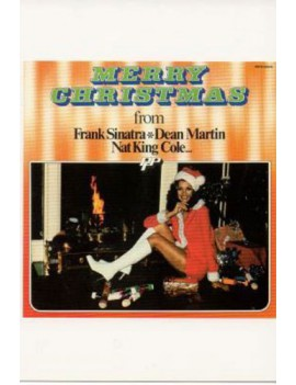 kaart 'Merry Christmas from Sinatra'