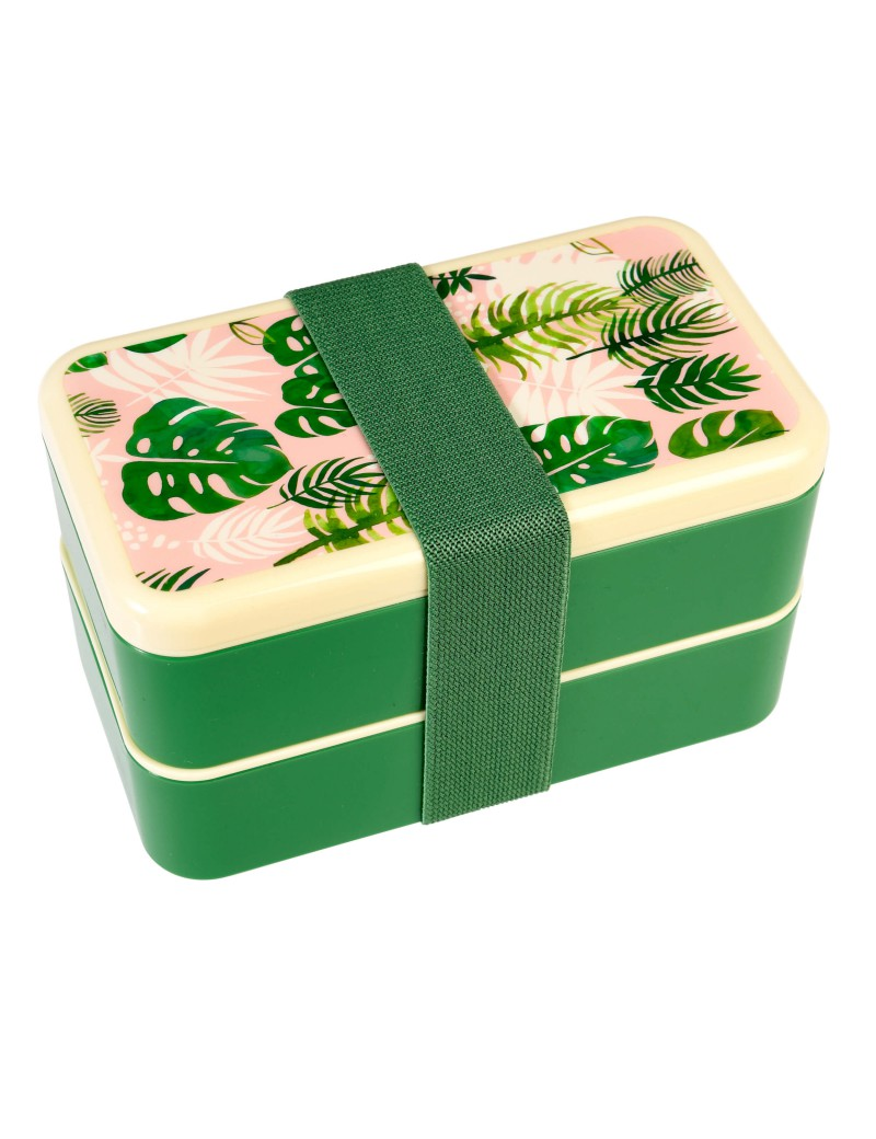 Bento box Palmbladeren