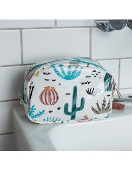 Pennenzak / make-up tas cactussen