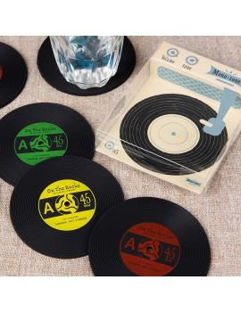 Vinyl record onderleggers