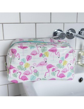 Toilettas met flamingo's