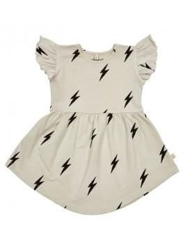 Grey lightning dress - Iglo+Indi