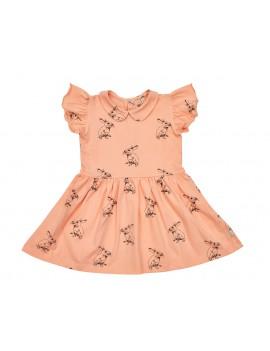 Peach bunny dress - Iglo+Indi