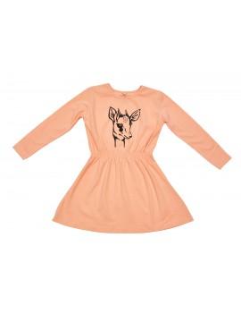 Peach gasella dress - Iglo+Indi