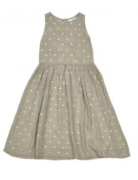 Golden sand lange jurk -...