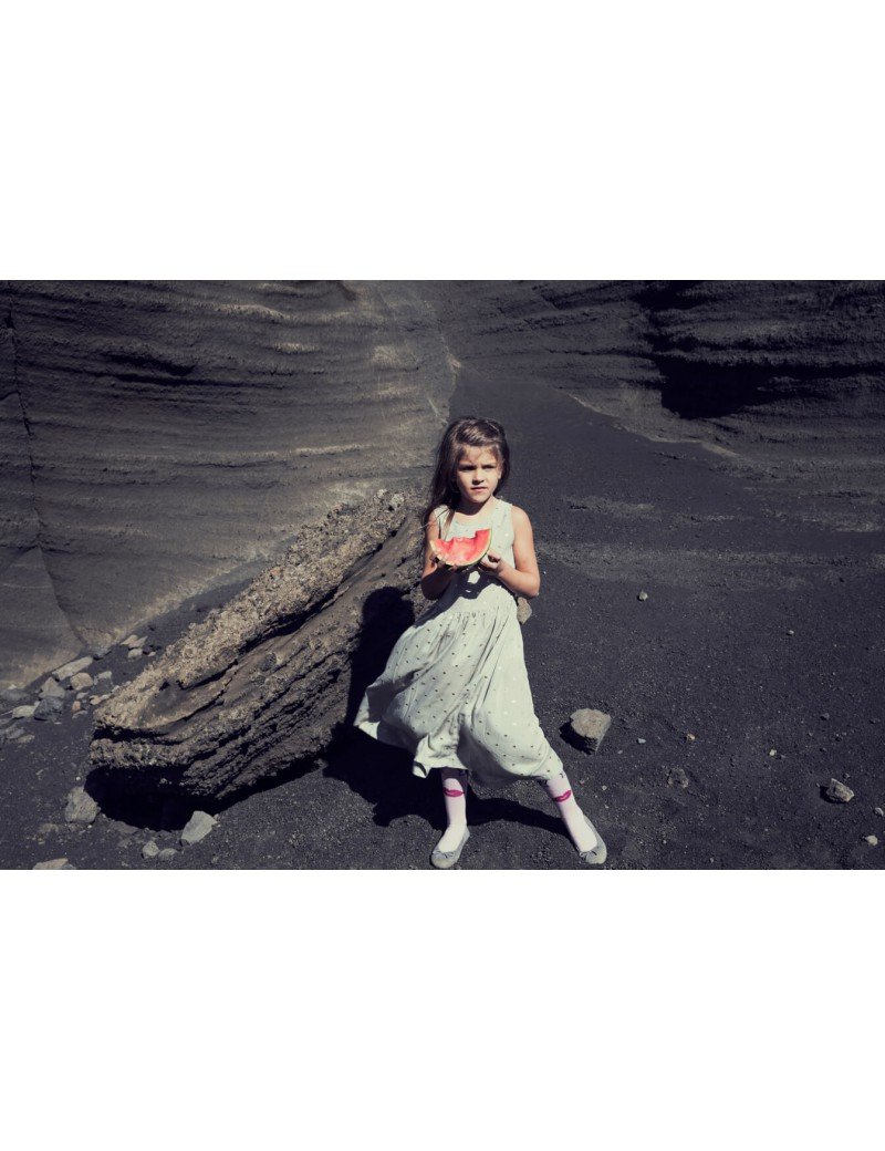Golden sand lange jurk - Iglo+Indi