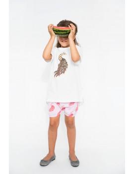 T-shirt pauw - Iglo+Indi