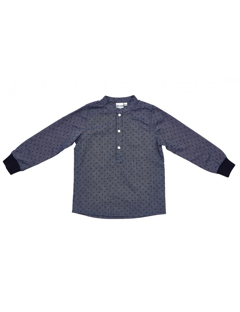 Klasse navy shirt - Iglo+Indi