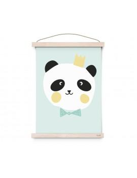 poster A3 'King Panda' - Eef Lillemor