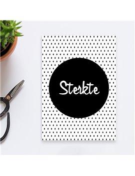 """Wenskaart """"Sterkte"""""""