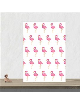 "Wenskaart ""Flamingo"""