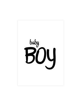 """Geboortekaart """"Baby Boy"""""""