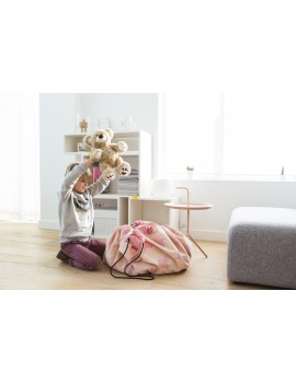 speelgoedzak Pink Elephant by A Little Lovely Company - Play & Go