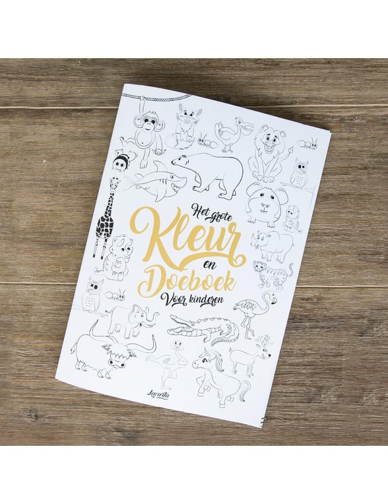 A4 Spelletjesboek voor kinderen - Lacarta