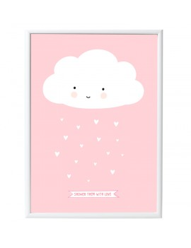 poster 'Pink Cloud' - A Little Lovely Company