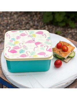 Flamingo lunchbox