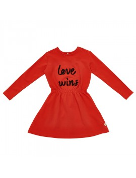 Kleedje Love Wins - Iglo & Indi