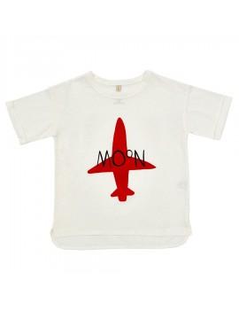 T-shirt jongens vliegtuig - Iglo & Indi