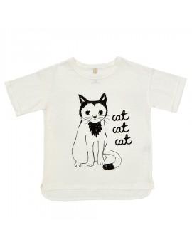 T-shirt cat cat cat - Iglo & Indi