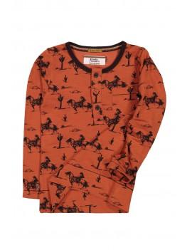 Western longsleeve t-shirt - 4 Funky Flavours