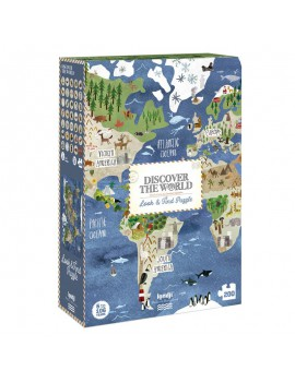 Puzzel discover the world 6+ jaar - Londji