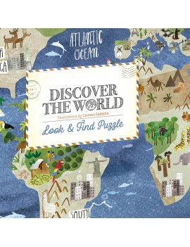 Puzzel discover the world - Londji