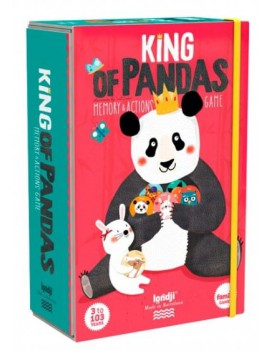 King of panda memory (3+) - Londji