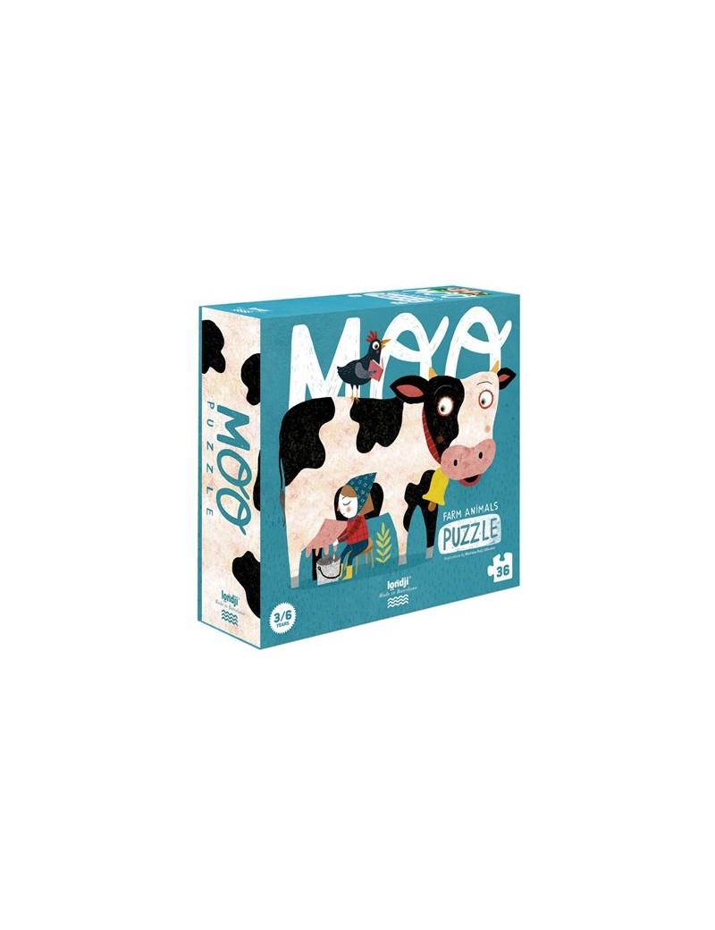 Boerderij puzzel (3+) - Londji