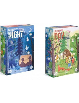 Duo puzzel forest (5+) - Londji