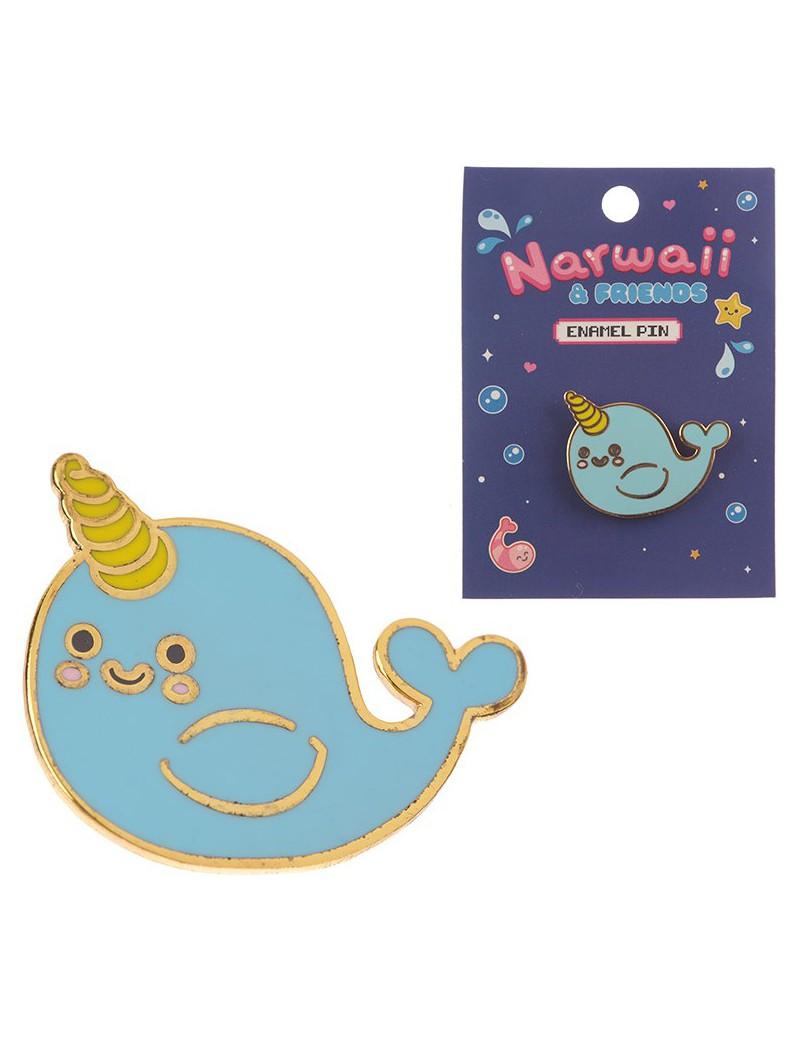 Narwhal pin - Puckator