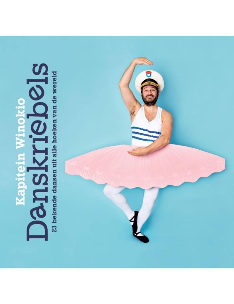 Danskriebels boek + cd - Kapitein Winokio